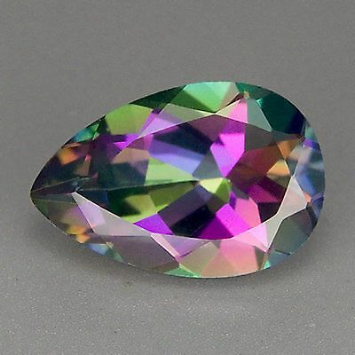 3.86 CTS Sparkling Rare Investment Quality Multi Colour NATURAL MYSTIC TOPAZ AAA