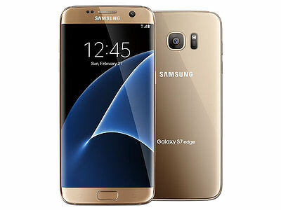 SAMSUNG GALAXY S7 edge Dual SIM 32GB 4G SM-G935FD Gold Platinum Unlocked