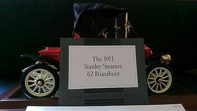 The 1911 Stanley Steamer 62 Runabout