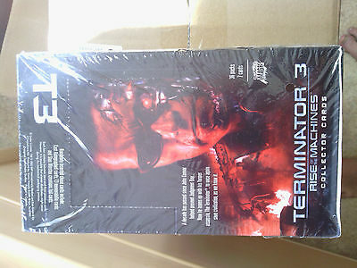 Terminator 3 Rise of the Machines Collector Cards Display