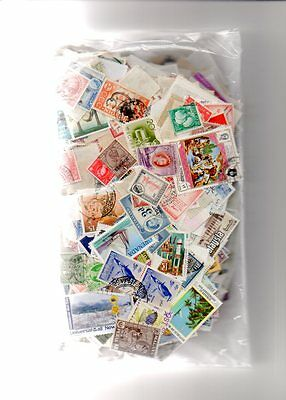 190 Grams Of Commenwealth Stamps All Off Paper