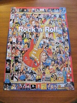 ROCK 'N ROLL - 1000 PIECE JIGSAW PUZZLE - complete