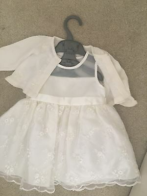 Christening Wedding Baby Girl Outfit 12 Months