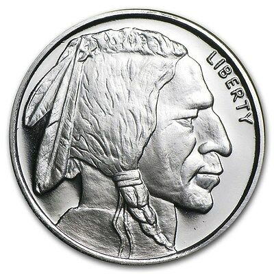Médaille Argent 999/1000 1/2 Once Bison - 1/2 Oz silver American Buffalo