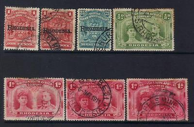 Rhodesia Early Used Selection