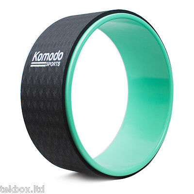 Komodo Yoga Wheel Fitness Pilate Ring Stretch Roller Stretching Back Workout