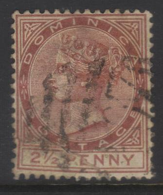 Dominica 1883-1886 Crown Ca Sg15 Used