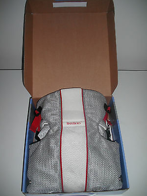 Baby Bjorn Carrier Air Mesh Grey White With Box