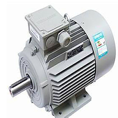 "5 HP SPL 1 Phase 3450 RPM Electric Air Compressor Motor 56 frame  5/8"" Shaft"