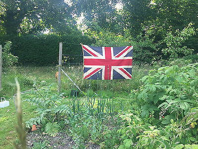 Very Large Vintage Union Jack Flag