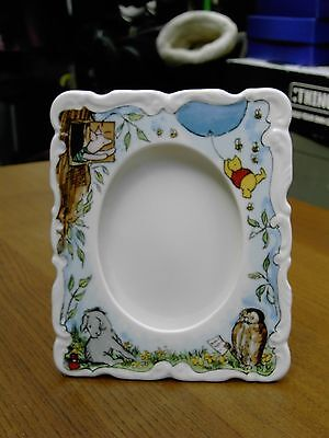 Royal Doulton WINNIE THE POOH Photo Frame In V.G.C. Free UK Postage