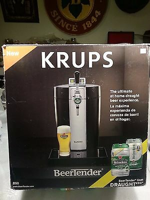 BeerTender from Heineken/Krups VB502 B90 Home Beer Tap System New in Retail Box