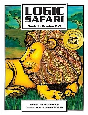Logic Safari Book 1 by Bonnie Risby Paperback Book (English)