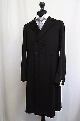 Men's Vintage Bespoke 1930's Morning Coat Tailcoat Size 38L SS9543