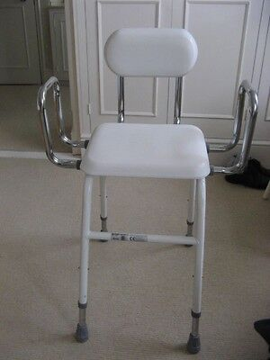 Bathroom/shower Seat - Disability/mobility Aid  - Padded - Fully Adjustable