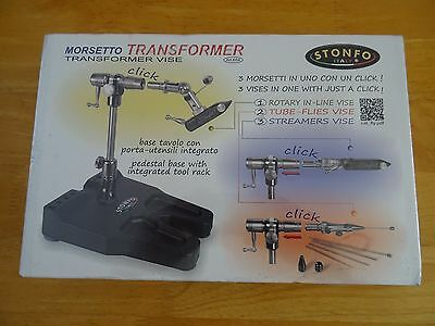 STONFO TRANSFORMER FLY FISHING VICE 3 in 1 Fly tying vice