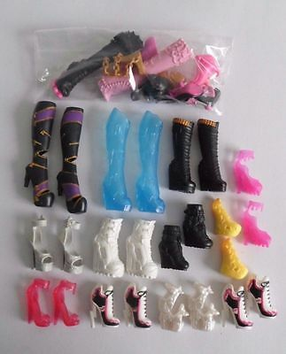 Monster High Lot Of Doll Shoes Footwear