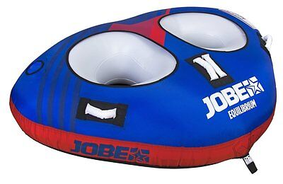 Jobe Equilibrium Double Trouble Towable Tube Funtube Water Tyre