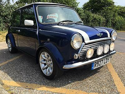 1997 Rover Mini Cooper Sportspack. 1275cc MPi. Tahiti blue. Only 67K & 4 Owners.