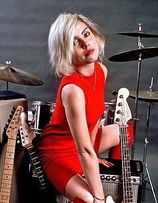 Debbie Harry (Blondie) photograph #21118335414 (scarce item)