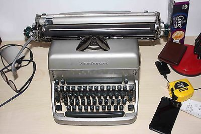 Vintage '60s Remington Rand No. 18 [?] Typewriter *Good Working Condition *Metal