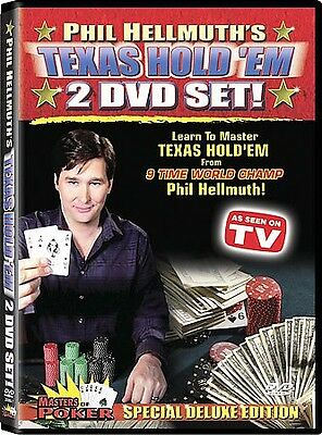 DVD: Phil Hellmuth's Texas Hold 'Em 2-DVD Set (Masters of Poker), . Very Good Co