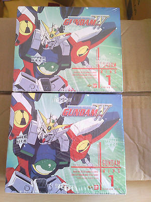 Gundam Wings Series 1 Display OVP Sealed x2