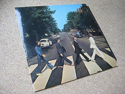 The Beatles Abbey Road UK 1st Press 2/1 No Her Majesty LP - Superb Audio!