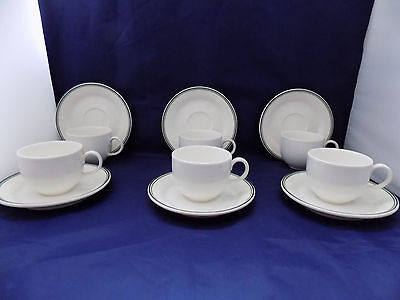 Villeroy & Boch Tipo 6 x Tea / Coffee Cups and 6 x Saucers