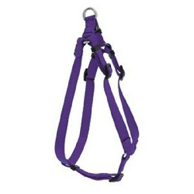 Weaver Large Prism Step-N-Go Dog Single-Ply Nylon Step-In Harness Purple