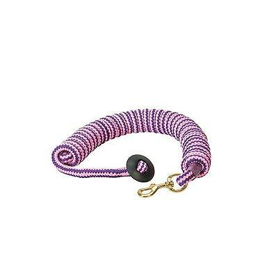 Weaver Leather Round Cotton Lunge Line, Pink/Grape