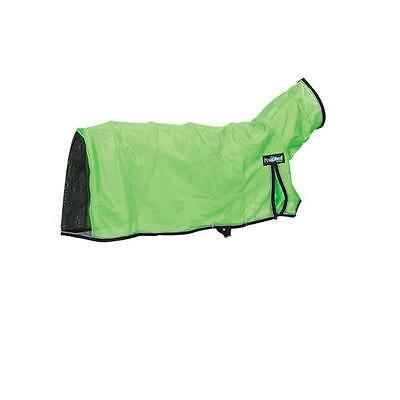 Weaver Leather Procool Mesh Sheep Blanket Lime Zest Reflective Piping, Medium