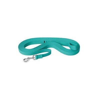 Weaver Leather Flat Cotton Lunge Line with Snap, Turquoise 30'