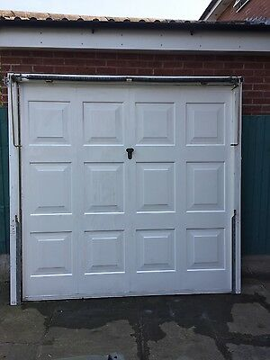 Henderson Framed Canopy Garage Door With Frame, Spring And Fittings