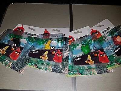 joblot angry birds key chains