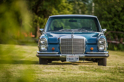 1972 Mercedes 280 Se Lhd In Rust Free Condition
