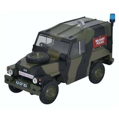 Oxford Diecast 1:43 43LRL002 Land Rover 1/2 Ton Lightweight Military Police