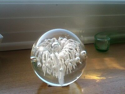 Parlane glass paperweight