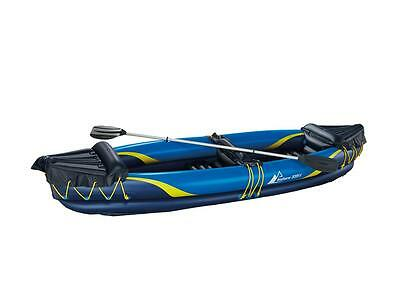 inflatable 2 person kayak, including paddle, and carry bag ready to go, Bargain