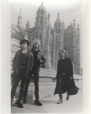 "NEW MODEL ARMY UK EARLY 90'S VERY SCARCE 10"" x 8"" BLACK & WHITE PROMO PHOTO"