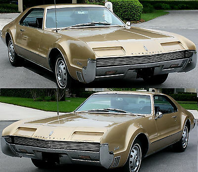 1966 Oldsmobile Toronado Deluxe 1966 Oldsmobile Toronado Gold over Black Reciently Completed and Ready to Go