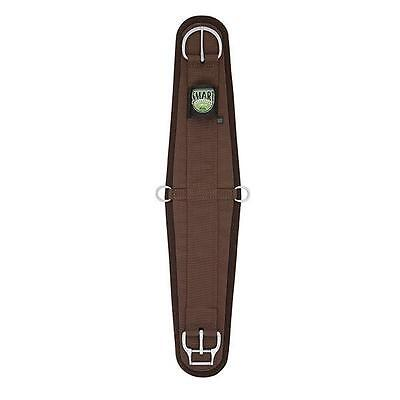 Weaver Leather Neoprene Roper Smart Cinch With Roll Snug Buckle Brown 36