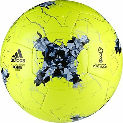 adidas AZ3191 Confederations Cup Glider Leisure ball in Size 5 yellow