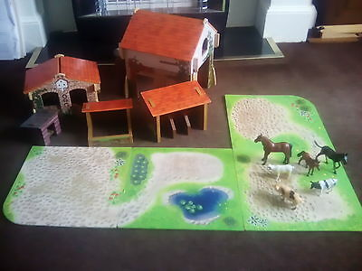 Early Learning Center Wooden Farm Set