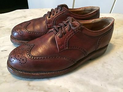 Vtg DACK'S melloflex adventure series wingtip brogue mens shoes sz 9 ?