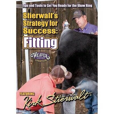 Weaver Livestock Stierwalt's Strategy For Success Fitting Beef Cattle DVD