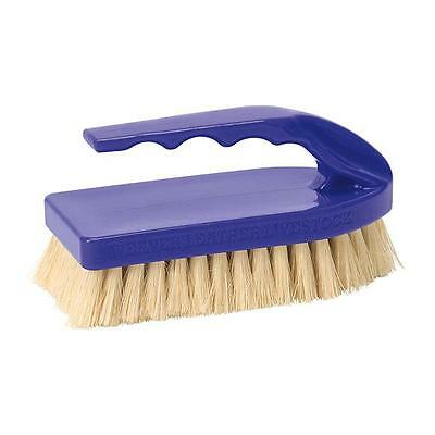Weaver Leather Tampico Pig Brush With Purple Handle