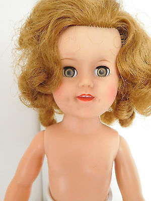 """Vintage 1950's Ideal 15"""" Shirley Temple Vinyl"""