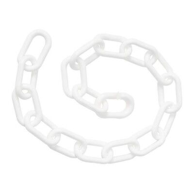 Weaver Leather Plastic Goat Chains, White, Large/36-Inch