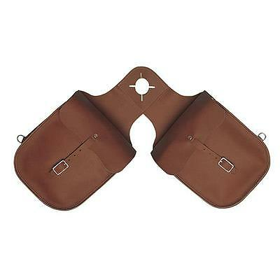 Weaver Leather Chap Leather Pommel Bag Fits over Horn Brown